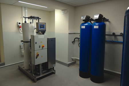 Water Purification With Remote Monitoring