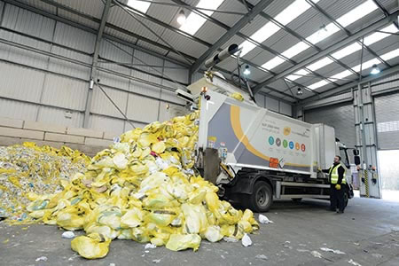 Process converts hygiene waste into fuel