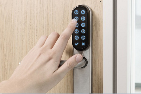 Keypad facility for 'intelligent' access control