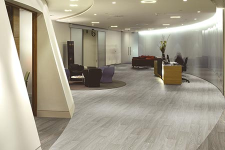 'Dramatic statement' flooring
