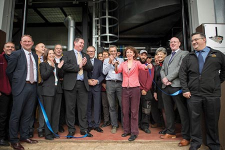 Energy centre saves £230,000 in first month