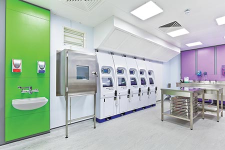 'Ultra-modern' decontamination facility