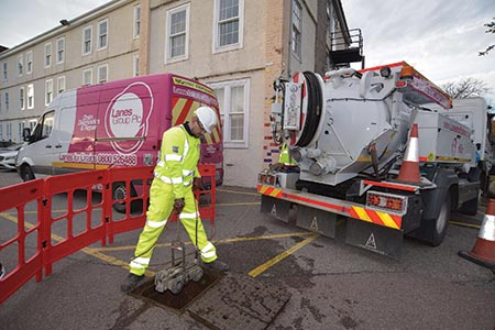 Overcoming drainage issues with minimal disruption