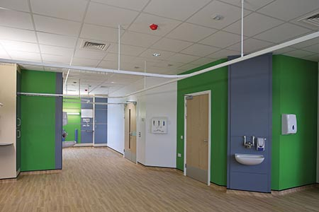 Practical, resilient flooring for new maternity unit