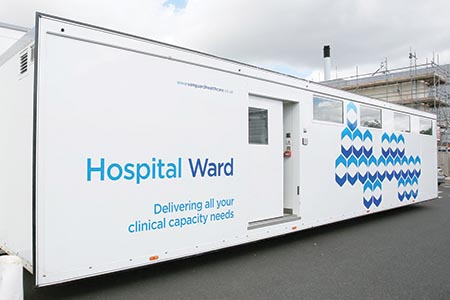 Mobile ward for Hereford hospital