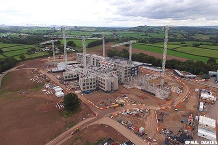 Fast-track construction for new £350 m Gwent facility