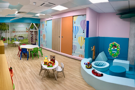 Young patients see their designs come to life in new hospital playroom