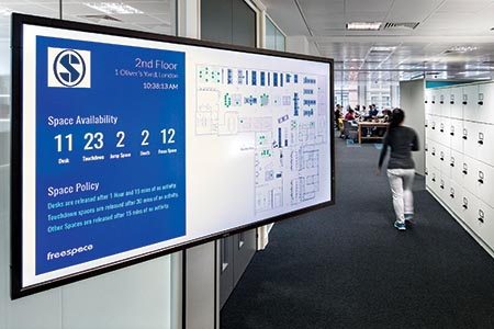 Sensors help optimise use of space in the workplace