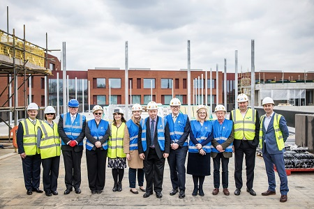 'Topping out' ceremony for new Dulwich health centre