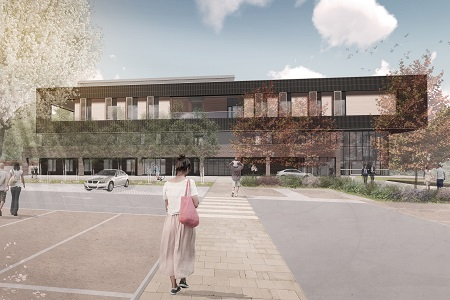 Milestone reached in £98 m Heatherwood Hospital's construction