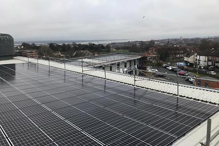On-site 'low-cost' solar PV for Wirral Health Centre to bring Trust savings