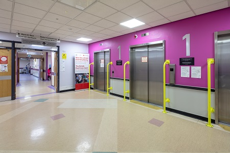 Tough antibacterial paint used in 'makeover' at Royal Gwent Hospital